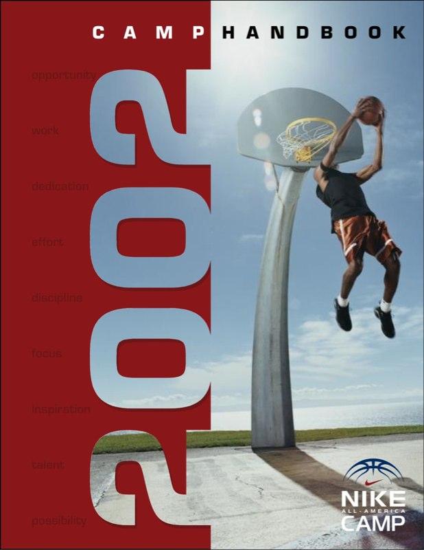 Nike 2002 Camp Handbook Cover
