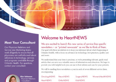 Orlando Health HeartNews Physician Newsletter
