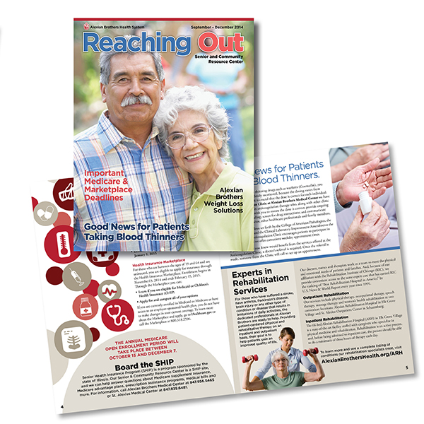 AMITA Health Reaching Out Magazine