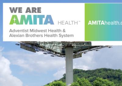 AMITA Health Launch Billboard