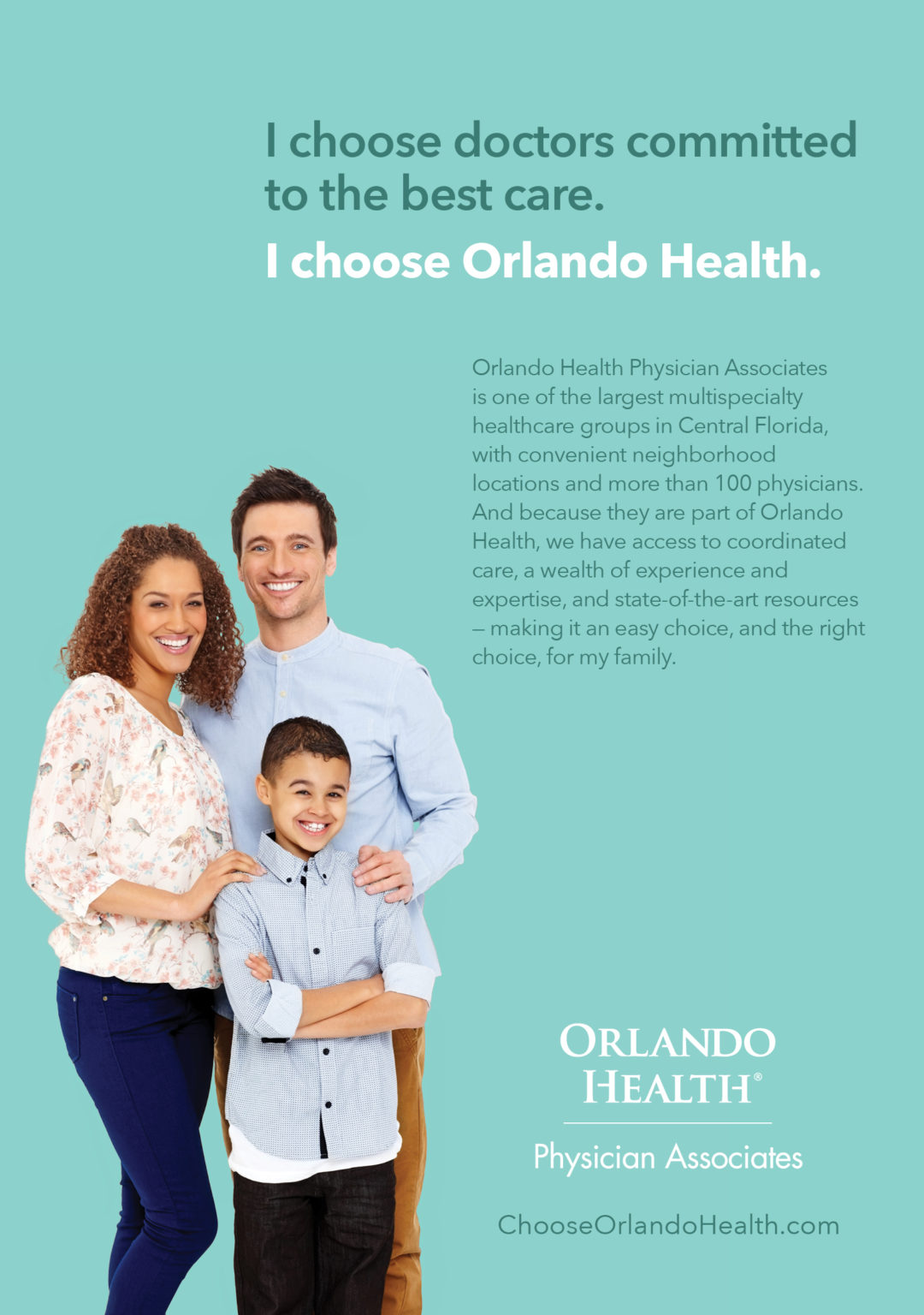 Orlando Health Physician Associates ad